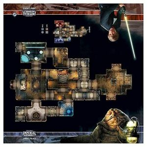 Star Wars: Imperial Assault - Jabbas Palace Skirmish Map