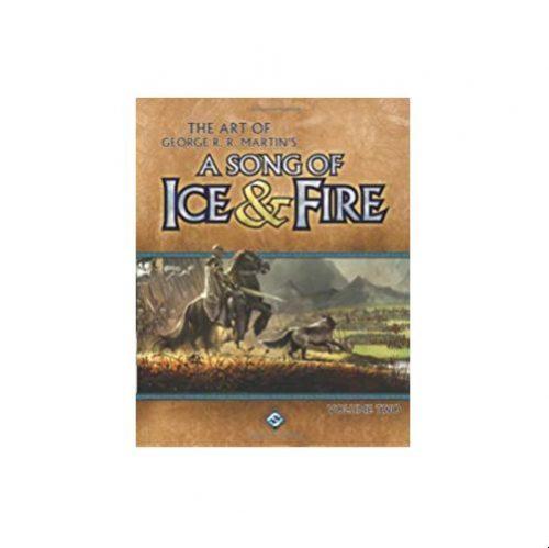 Song of Ice & Fire vOL. 2: AGOT Art Bk