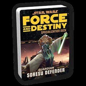 Star Wars: Force and Destiny RPG - Soresu Defender Specialization Deck