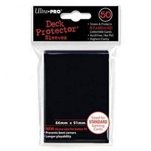 Standard Black Deck Protector Sleeves