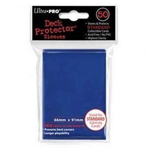 Ultra PRO Solid Sleeve Blue Deck Protectors (50)