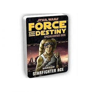 Star Wars: Force and Destiny RPG - Starfighter Specialization Deck