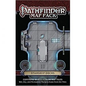 Pathfinder RPG: Starship Decks Map Pack