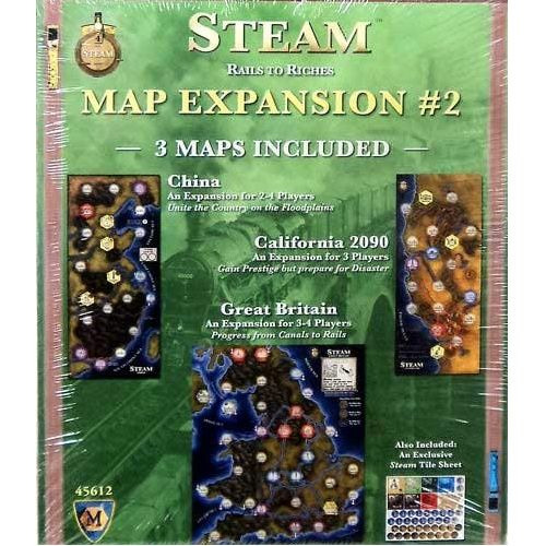 Steam: Rails to Riches Map Expansion #2