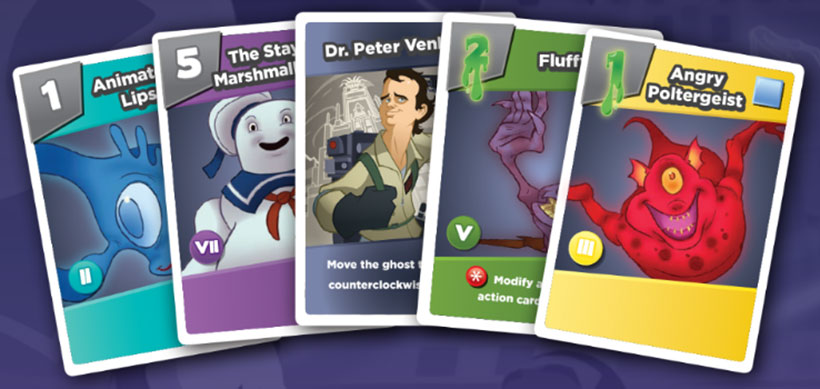 Stone Age News - Ghostbusters Card Game