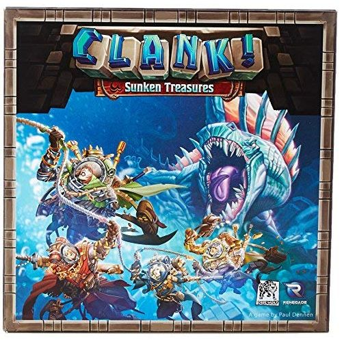 Sunken Treasures: Clank! expansion