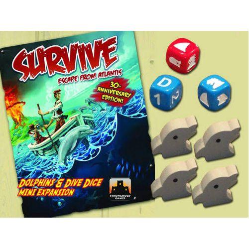 Survive: Dolphins & Dive Dice Mini Expansion - also see SHG3005