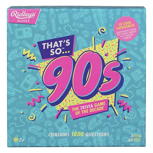 Thats So 90s Quiz UK   Board Game   Zatu Games UK