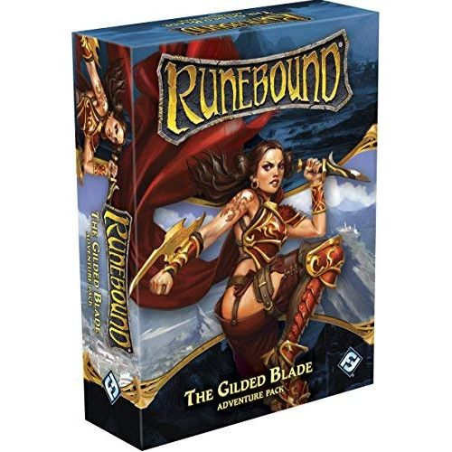 The Gilded Blade Adventure Pack: RuneBound 3rd Edition