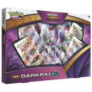 The Pokemon TCG: Shining Legends Shiny Darkrai-GX
