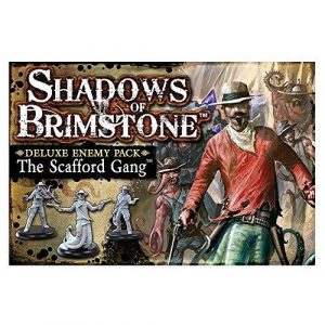 The Scafford Gang Deluxe Enemy Pack: Shadows of Brimstone Exp