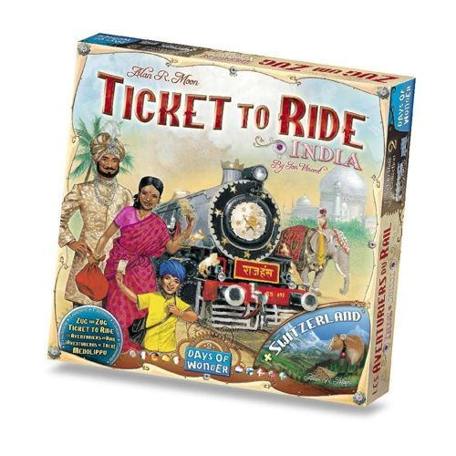 Ticket to Ride India: Map Collection
