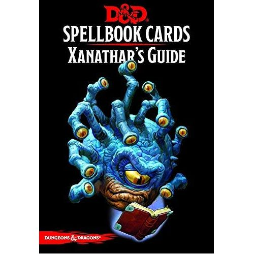 Xanathar's Guide to Everything D&D spell deck