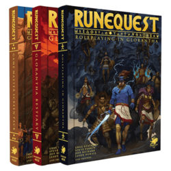 Deluxe Slipcase RuneQuest Roleplaying in Glorantha
