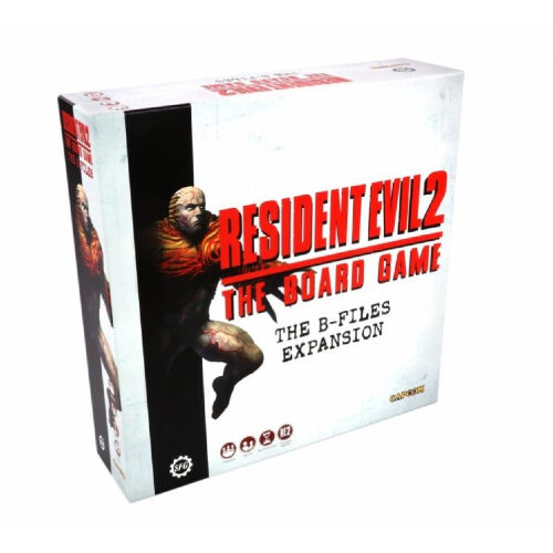 resident evil 2 the board game the b files expansion