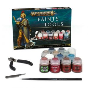 Age of Sigmar: Paints + Tools