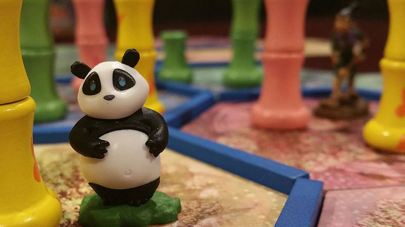 Component Quality - Takenoko Panda