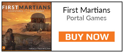 Games of the Month - Buy First Martians Board Game