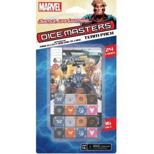Justice Lightning Team Pack Marvel Dice Masters