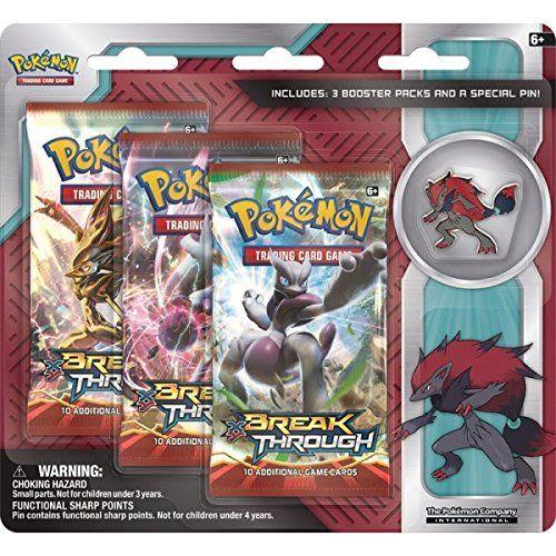 Pokemon Zoroark Triple Pack