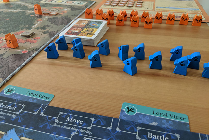 Root Review - Bird and Cat Meeples