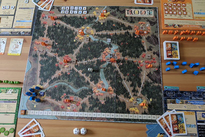 Root Review - Four-Player Set-up
