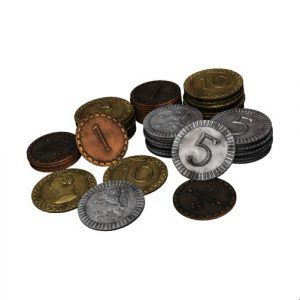 Set of Metal Coins- Clans of Caledonia