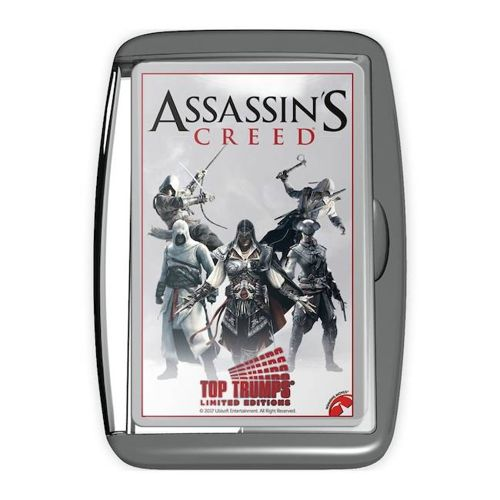 Assassins Creed Limited Edition Card Game in Retro Case