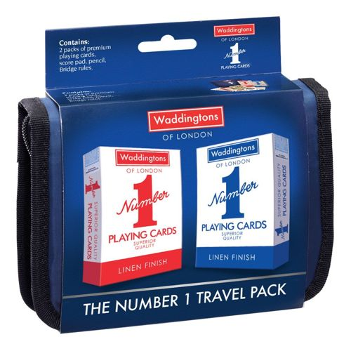Bridge Travel set - Waddingtons No1 Playing Cards