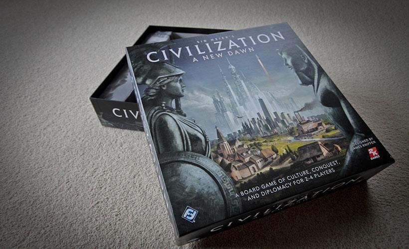 Civilization A New Dawn Review - Box Art