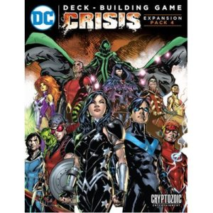 Crisis Expansion 4: DC Deck-Building Game DC Comics