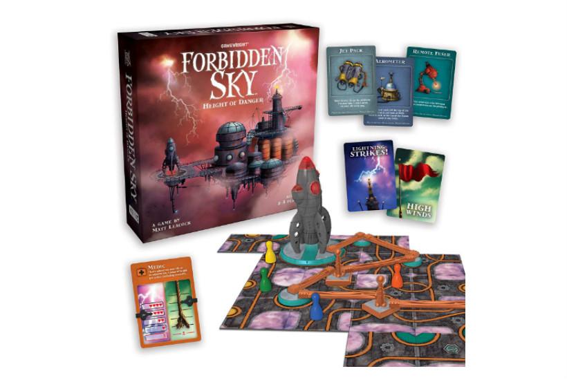 Forbidden Sky Review - Game Conent