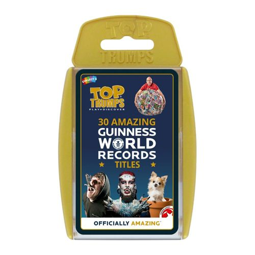Guiness World Records - Top Trumps Specials