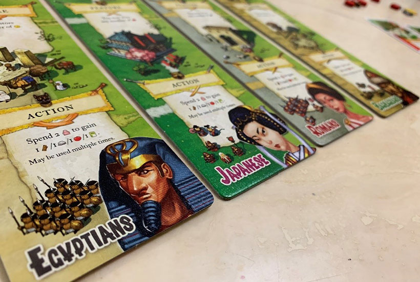 Imperial Settlers Review - Nation Cards