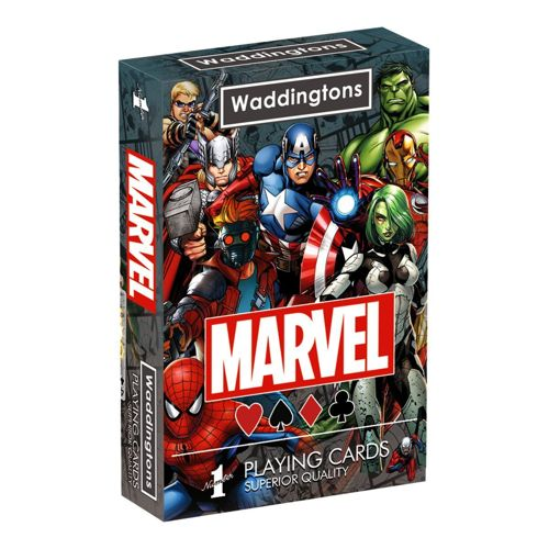 Marvel Universe - Waddingtons No1 Playing Cards