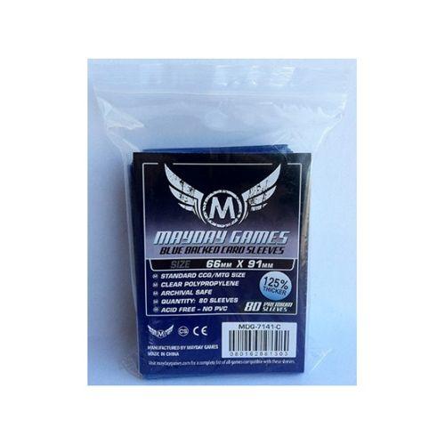 Mayday Premium 80 Blue Card Sleeves 63.5 x 88mm