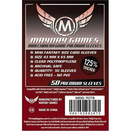 Mayday Premium Mini Chimera 50x Card Sleeves 43 x 65mm
