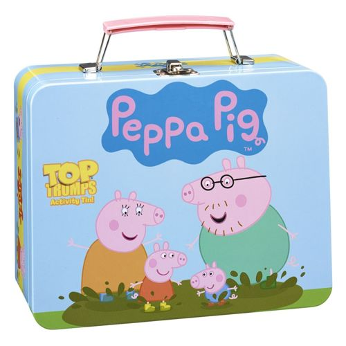 Peppa Pig - Top Trumps Activity Pack Tin
