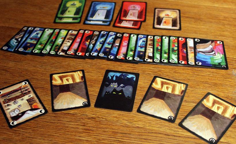 Playing Onirim Game