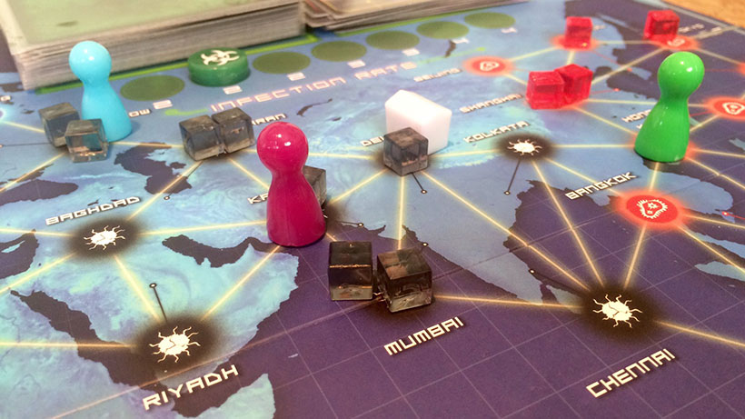 Playing Pandemic: On the Brink