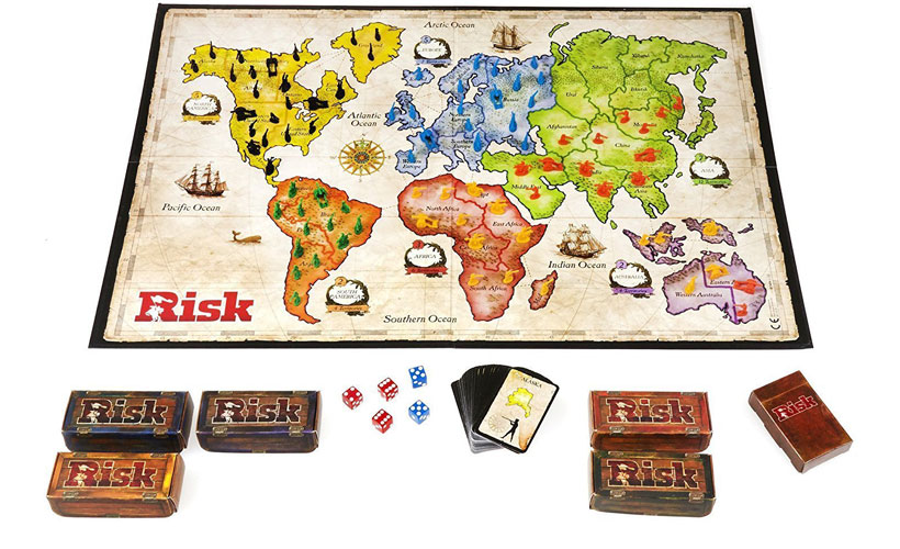 Risk Board Game Review - Game Components