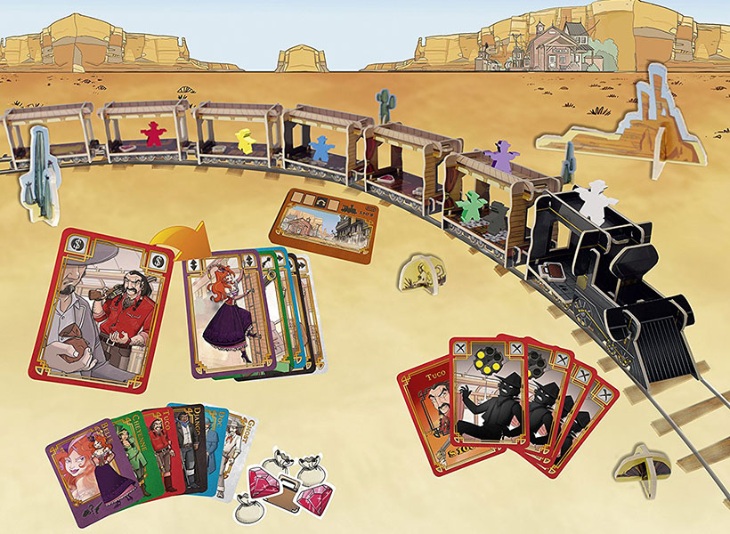September Games of the Month - Colt Express