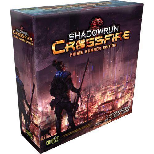 Shadowrun Crossfire Prime Runner Edition | Board Game | Zatu