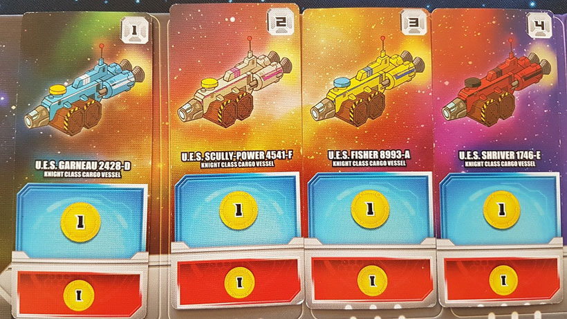 Space Base Review - Ships