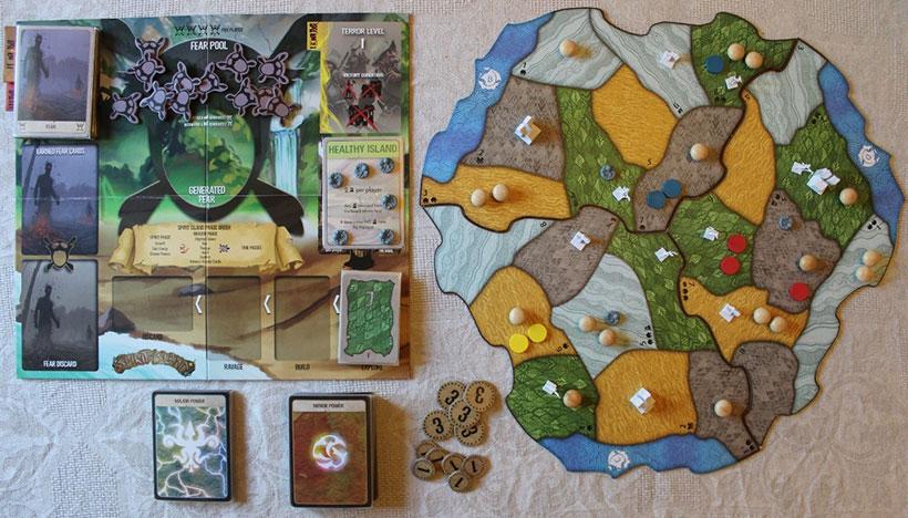 Spirit Island Game Components