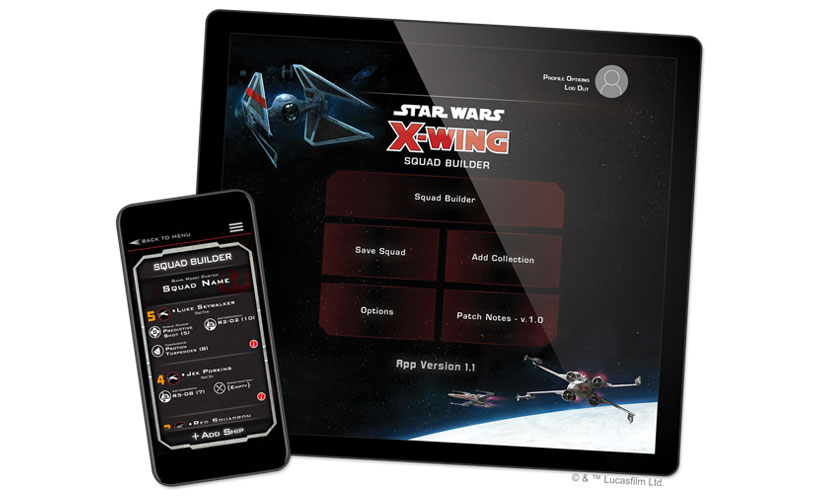 Star Wars X-Wing Second Edition App