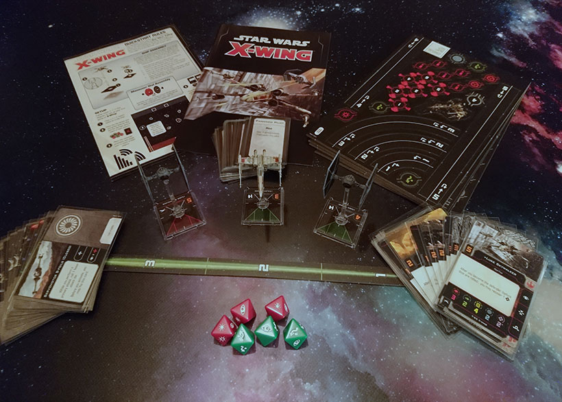 Star Wars X-Wing Second Edition Contents