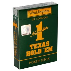 Texas Hold em - Waddingtons No1 Playing Cards