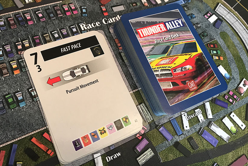 Thunder Alley Review - Race Cards