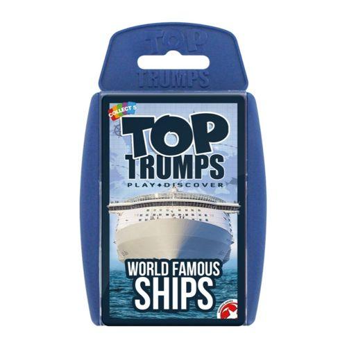 World Famous Ships - Top Trumps Classics